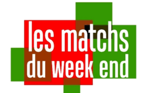 Matchs du weekend